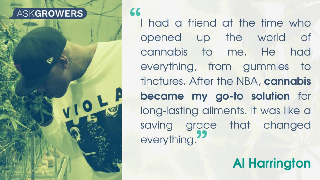 Celebrity Quotes About Their Cannabis Brands: Al Harrington