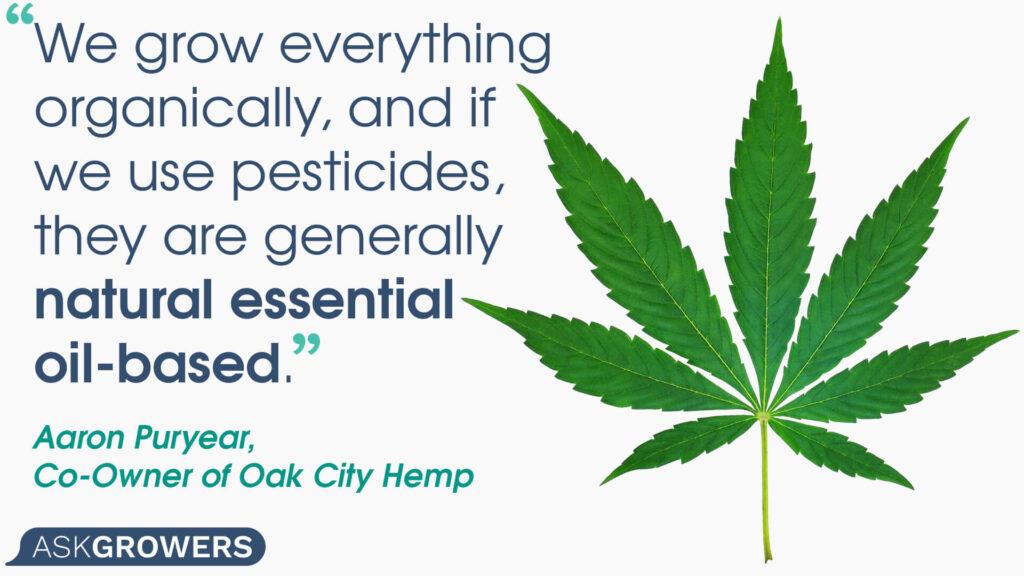 Oak City Hemp quote